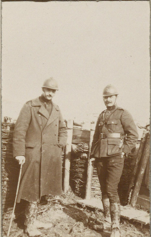 WWI Photograph Album of a Belgian Soldier