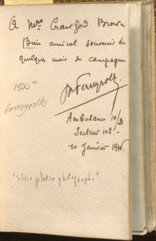 Bound book of original gelatin photographs from the 3rd Battle of Artois (September-November 1915)