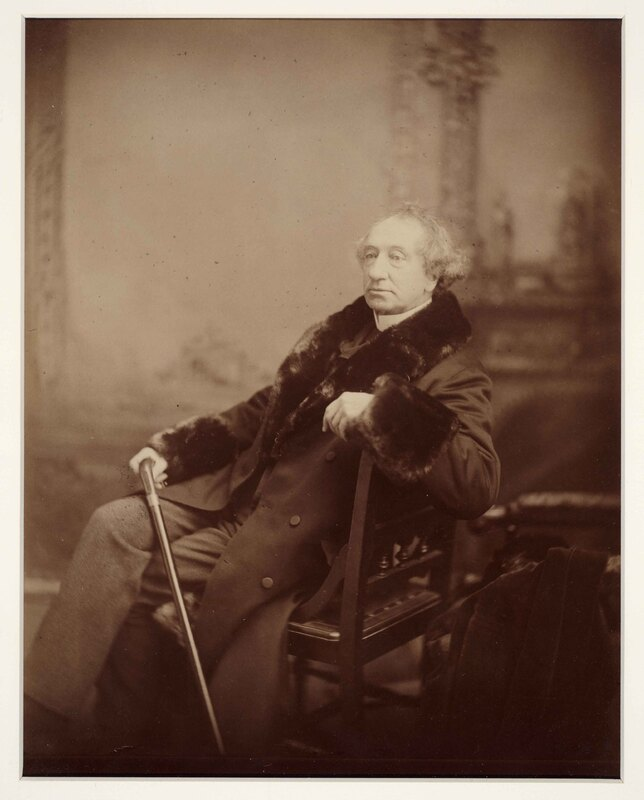Portrait of Sir John A. Macdonald.