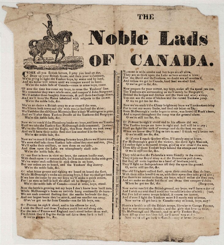 The Noble Lads of Canada.