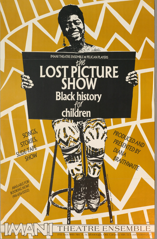 Poster for the Lost Picture Show: Black History for Children