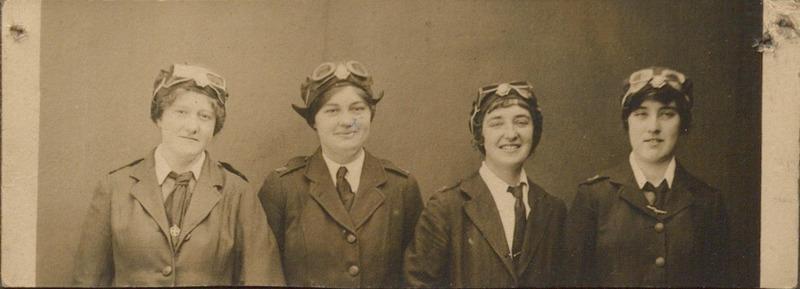 Photograph of Female Ambulance Drivers