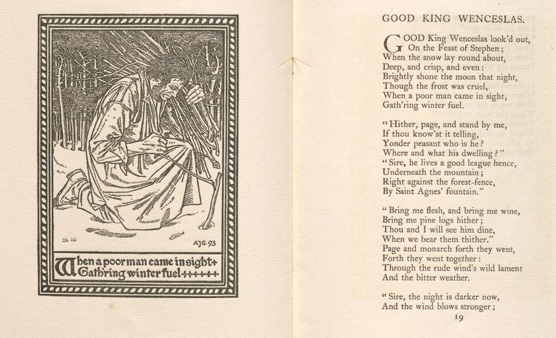 A Book of Pictured Carols designed under the Direction of Arthur J. Gaskin