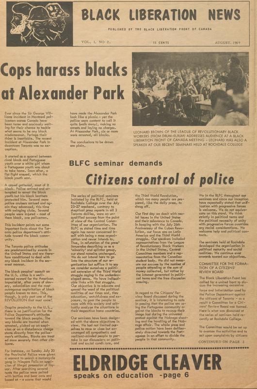 Black Liberation News