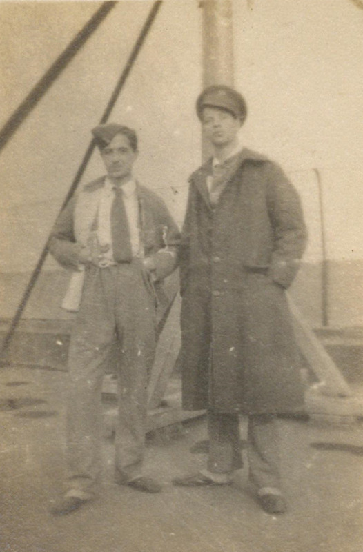 Photograph of [Harry and Ted  Richardson]
