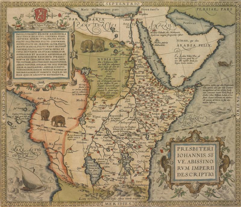 Presbiteri Iohannis, sive Abissinorum imperii descriptio