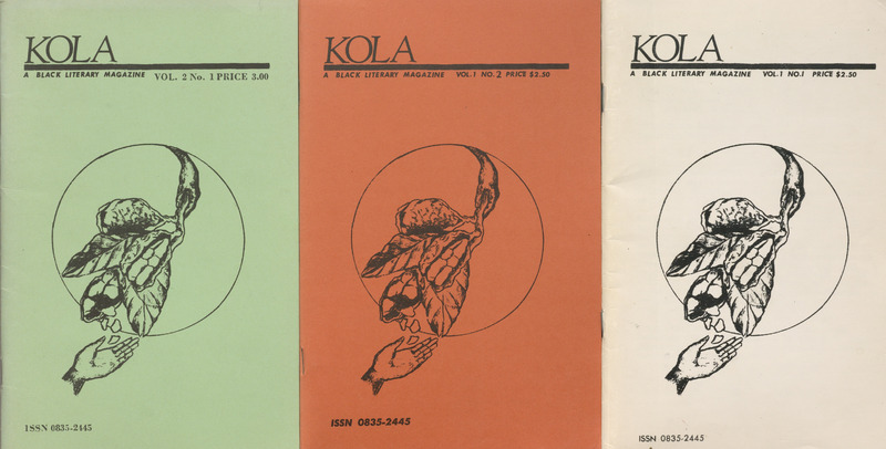 Kola: A Black Literary Magazine