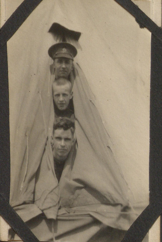 Photograph Album of Canadian Army Medical Corp Training