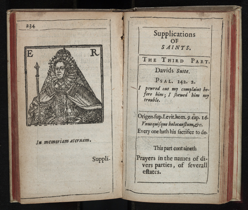 Supplications of Saints: A Booke of Prayers and Praises.