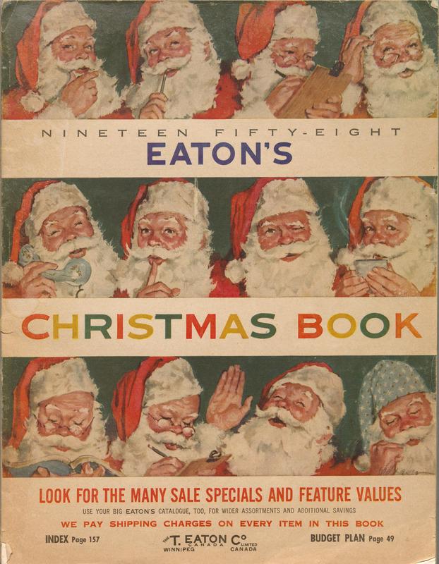 Christmas Catalogue, 1958.