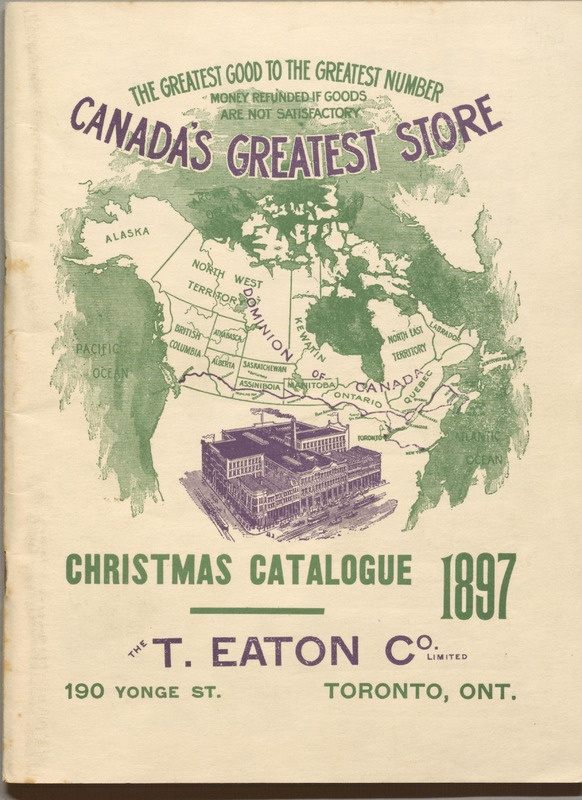 Christmas Catalogue, 1897.