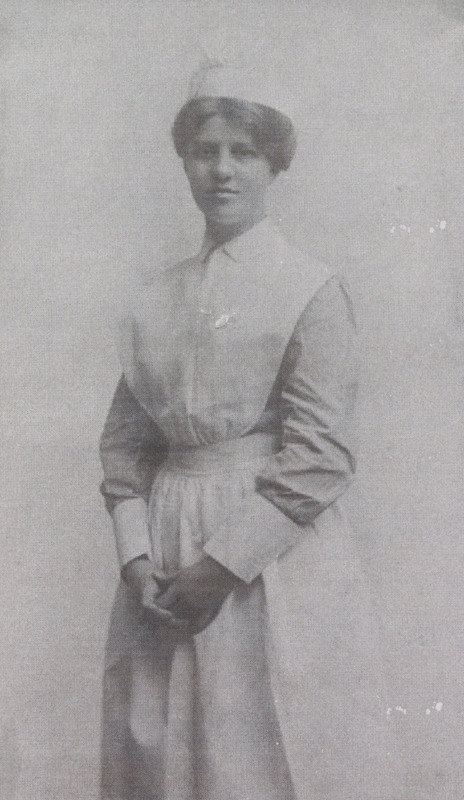 Copy of photographs of Wenonah Durant in her nurses uniform