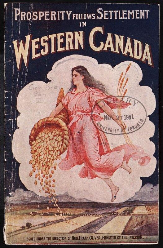 Prosperity follows Settlement in Western Canada