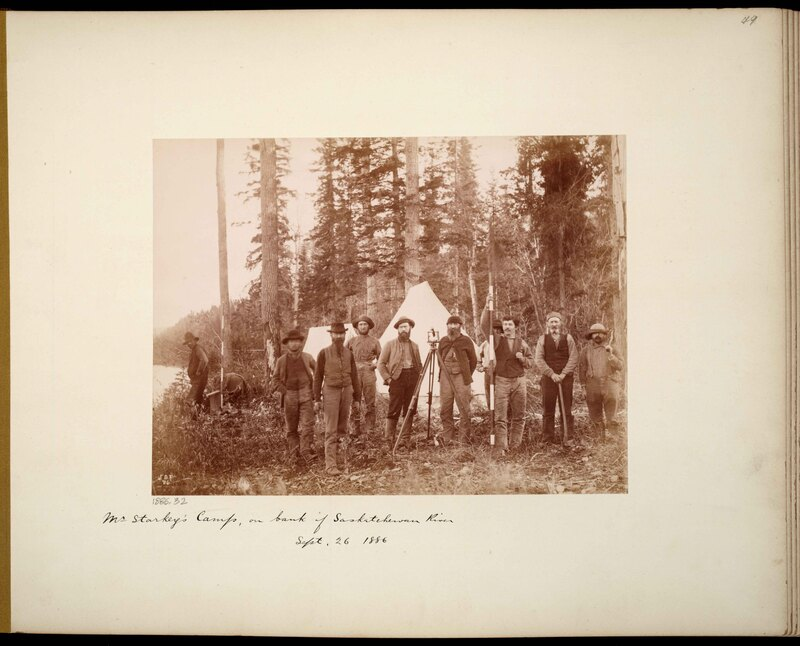 Photographs from George M. Dawson's Expedition to the Rocky Mountains and the Northwest Territories