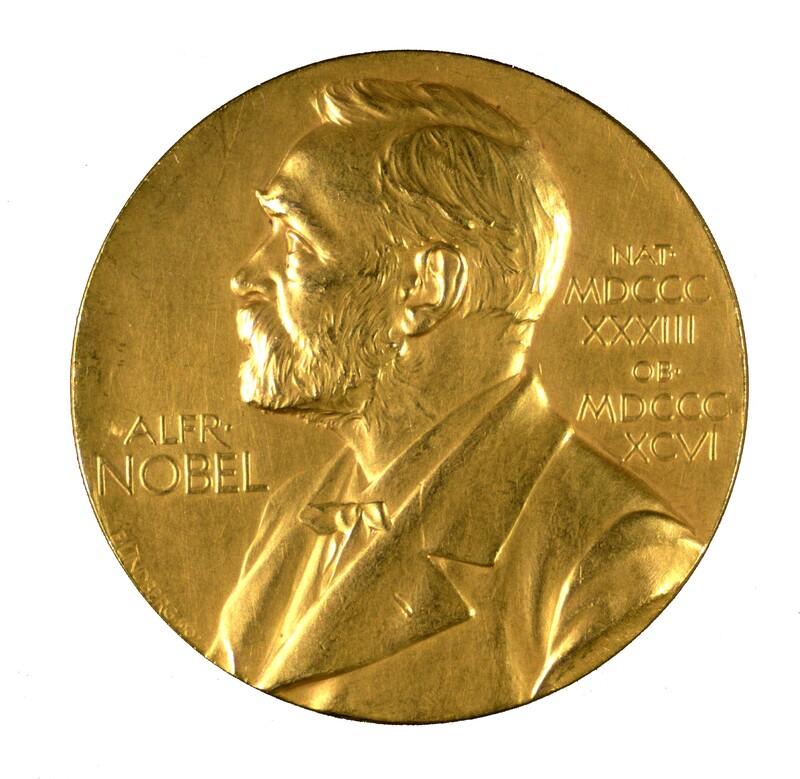 Nobel Prize medal inscribed to F. G. Banting