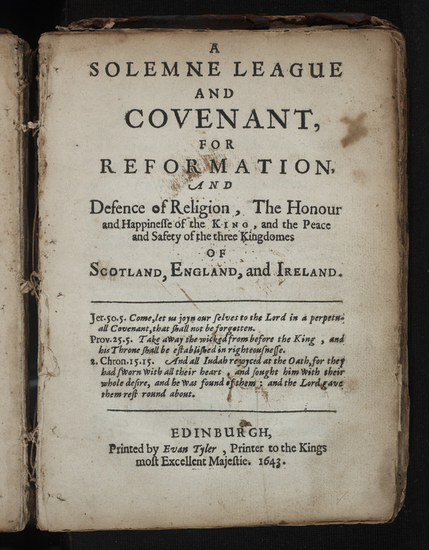 Solemne League and Covenant
