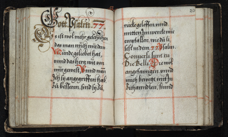 Lutheran Manuscript Prayer Book.