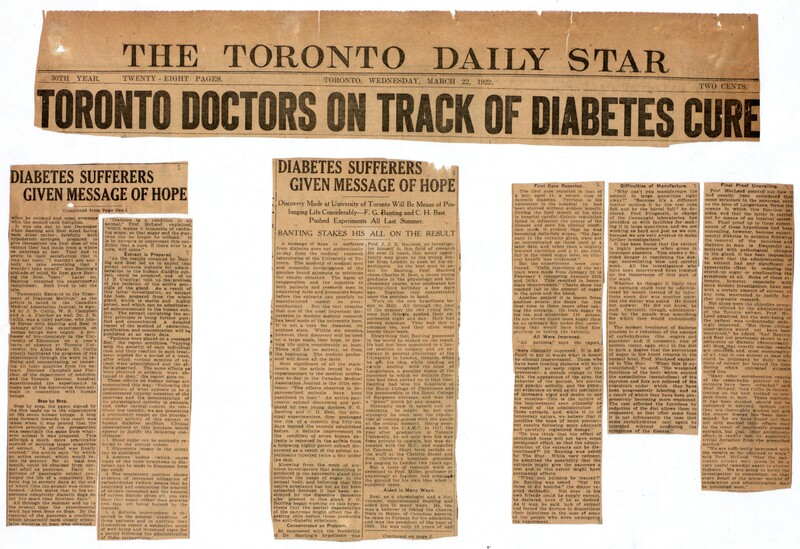 Toronto doctors on track of diabetes cure