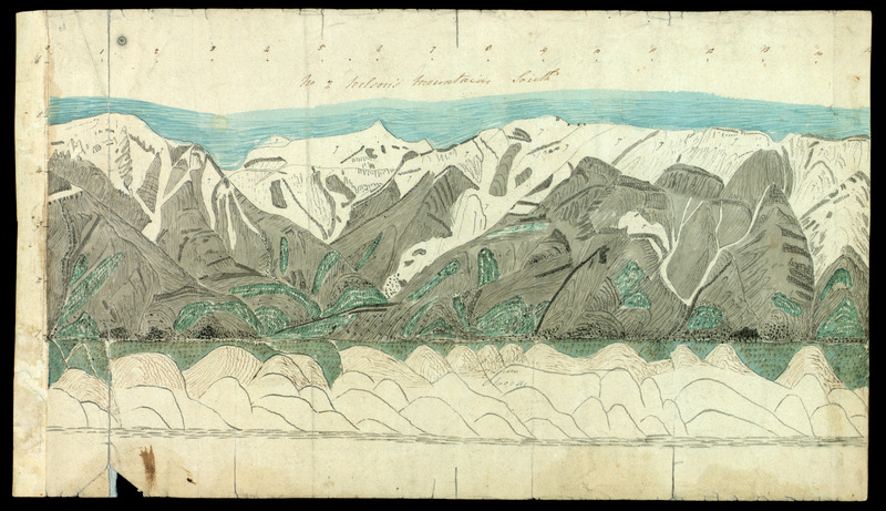 Holograph Sketches of Mountains