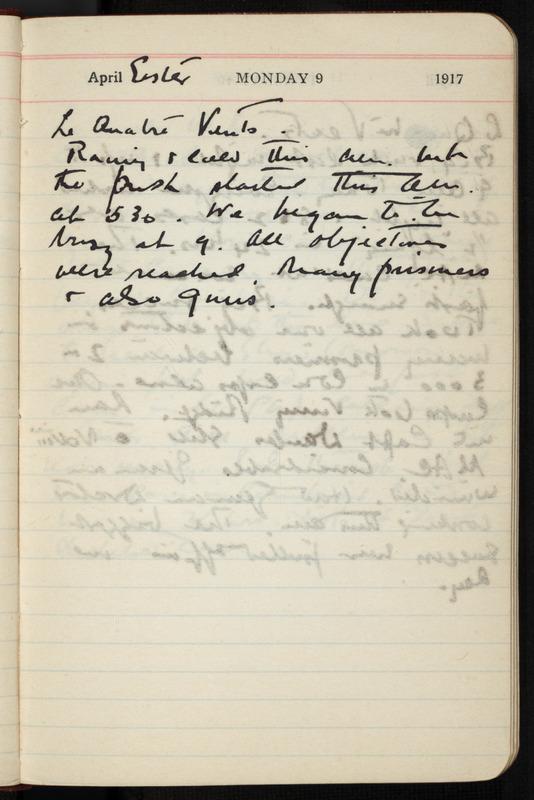 [World War I Diaries]