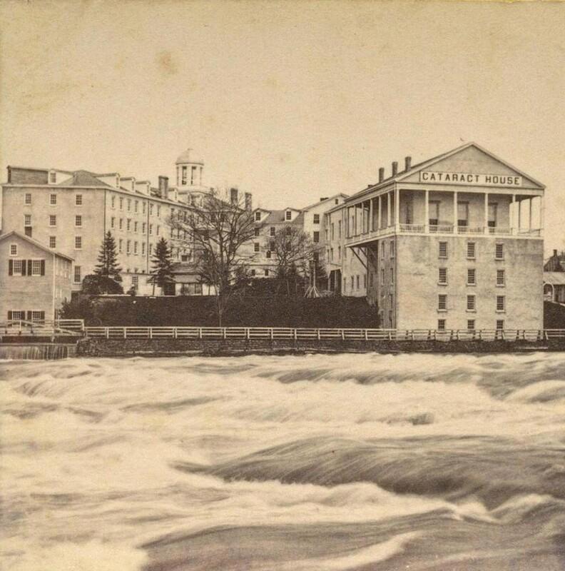 Photographs of Cataract House in Niagara Falls, NY