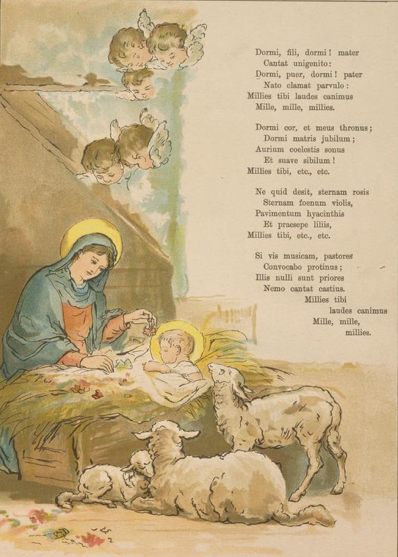 'Virgin's Cradle Song'