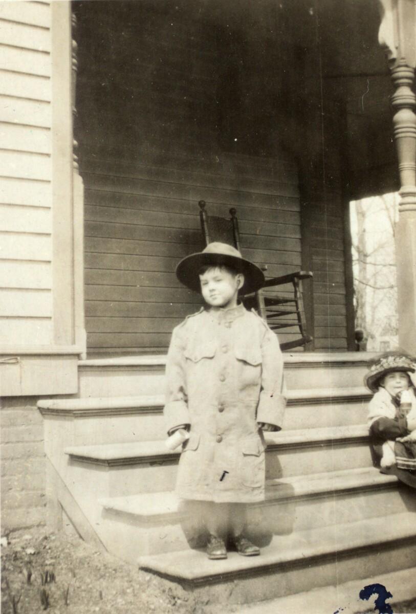 Photograph of Teddy Ryder ca. 1922