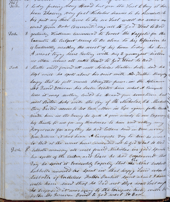 [Journal and ledger of William Dickson].