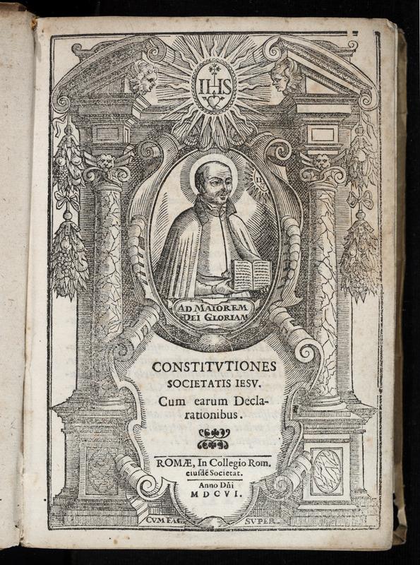 Constitutiones Societatis Iesu, cum earum Declarationibus.