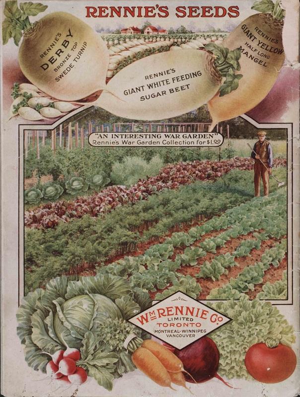 Rennie's Seed Annual 1918.