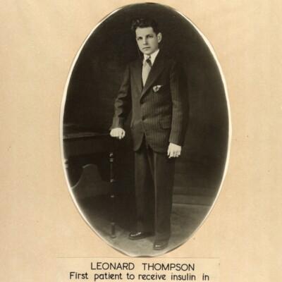Formal photograph of Leonard Thompson
