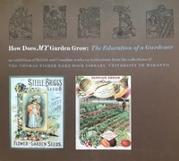 Cover for the Gardening Exhibition Catalogue
